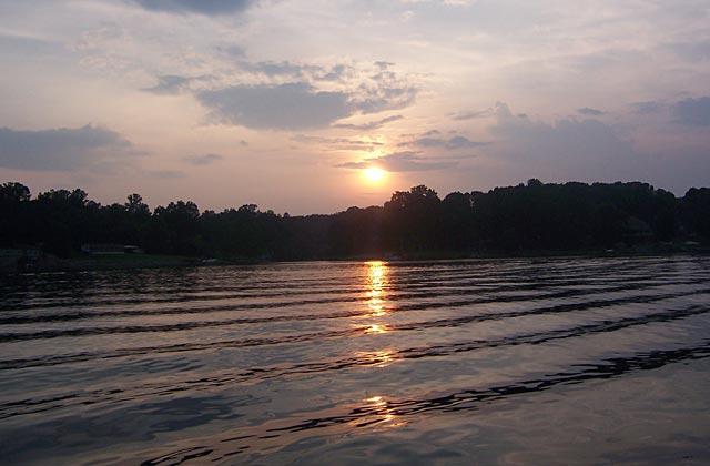 Sunset on Lake Norman